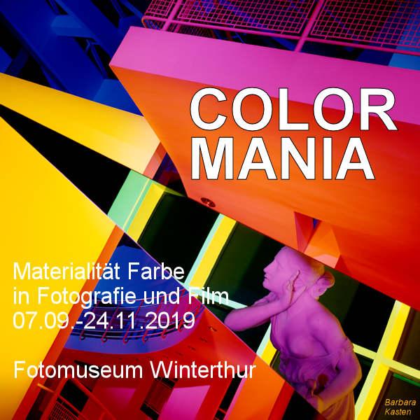 Color Mania - Materialität Farbe in Fotografie und Film - fotointern.ch – Tagesaktuelle Fotonews