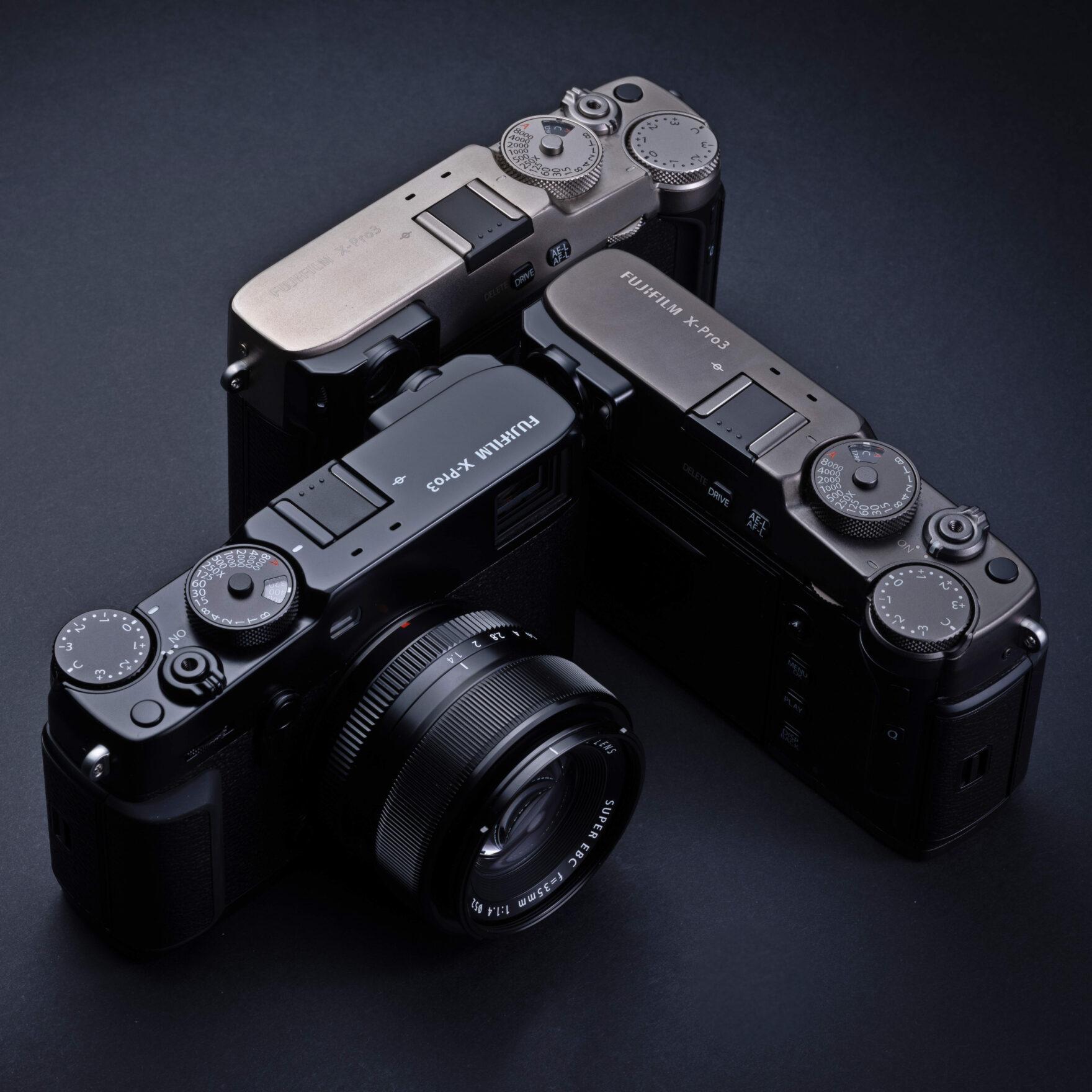 Systemkamera Fujifilm X-Pro3 mit robustem Titangehäuse