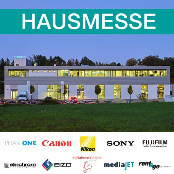 Am Freitag ist Hausmesse bei Profot - fotointern.ch – Tagesaktuelle Fotonews