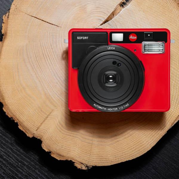 Leica «SOFORT» Sofortbildkamera jetzt auch in Rot - fotointern.ch – Tagesaktuelle Fotonews