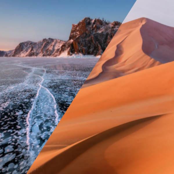 Eis und Sand – kalt und heiss … - fotointern.ch – Tagesaktuelle Fotonews