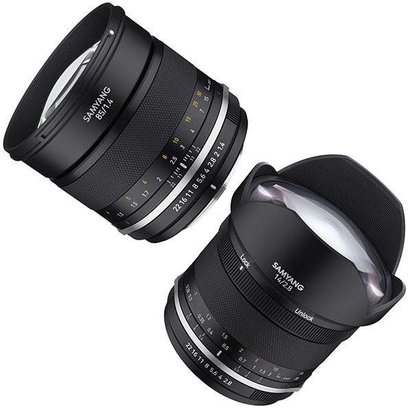 Samyang MF 2,8/14mm und 1,4/85mm als verbesserte MK2-Versionen