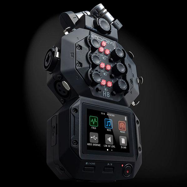 Zoom H8: Vielseitiger mobiler Audiorecorder mit 12 Kanälen - fotointern.ch – Tagesaktuelle Fotonews