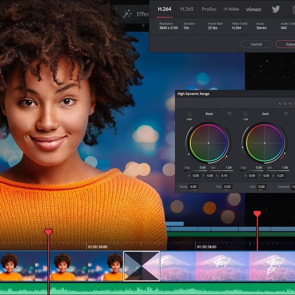 DaVinci Resolve 17 mit noch mehr HDR-, Farb- und Audiobearbeitung
