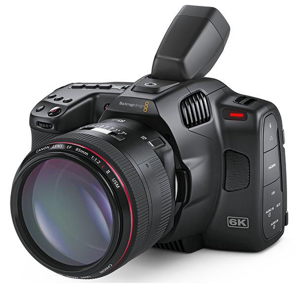 Pocket Cinema Camera 6K Pro mit ND-Filter, hellem Tilt-LCD, EVF-Option und starkem Akku - fotointern.ch – Tagesaktuelle Fotonews